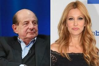 """Giancarlo Magalli : """"Adriana Volpe? Potrei querelarla per calunnia"""". Lei: """"Acido e arrogante"""""""