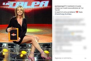 Paola Perego e il possibile ritorno La Talpa: Rai e Mediaset tacciono, si avvicina Discovery