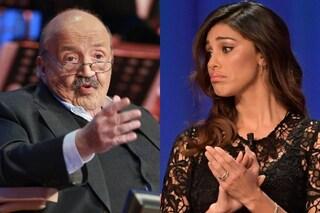 """Maurizio Costanzo su Belén Rodriguez: """"Non è una conduttrice, ma un'ospite gradita che fa ascolti"""""""