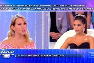 """Tensione in diretta a Pomeriggio 5, Silvia Corrias a Barbara D'Urso: """"Non accetto lezioni morali"""""""