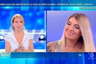"""Veronica Satti: """"Ho ritrovato mio padre Bobby Solo, ci sentiamo tutti i giorni"""""""