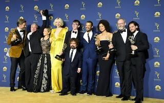 """Emmy Awards 2018: """"Game of Thrones"""" miglior serie, Netflix la casa di produzione più premiata"""