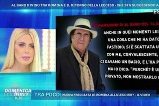 """Loredana Lecciso: """"Non sono tornata con Al Bano Carrisi, ma non sta nemmeno con Romina Power"""""""