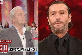 """Il padre di Rossano Rubicondi: """"Mio figlio non ci vuole e noi non vogliamo lui"""""""
