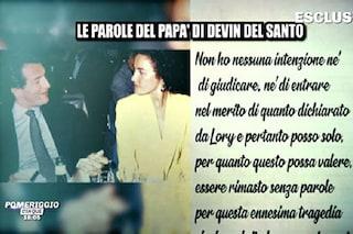 """Silvio Sardi, ex di Lory Del Santo: """"Spero mio figlio Devin non abbia visto morire il fratello"""""""