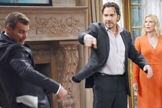 Anticipazioni 'Beautiful', 10 - 15 settembre: Ridge picchia Thorne e lui chiede a Brooke di sposarlo