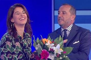 UnoMattina riparte dai fiori di Franco Di Mare a Benedetta Rinaldi