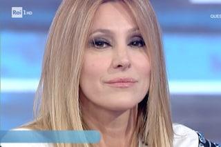 """Adriana Volpe: """"Potevo morire folgorata, gli angeli mi hanno salvato"""" poi parla di Giancarlo Magalli"""