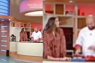 """""""Dio b..."""", bestemmia di uno chef a """"La Prova del Cuoco"""" e Elisa Isoardi lo fulmina con lo sguardo"""