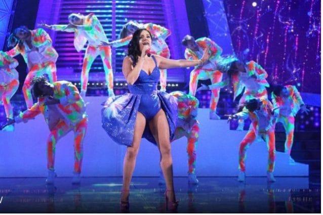 Roberta Bonanno vince la puntata interpretando Katy Perry