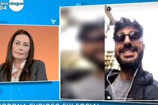 """Fabrizio Corona: """"La madre di Silvia Provvedi sfrutta le figlie"""", lei: """"Mi auguro lui si spenga"""""""