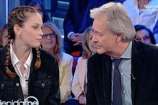 """Corrado Tedeschi presenta la figlia Camilla a """"Vieni da me"""": 'Dopo il tumore la amo di più'"""