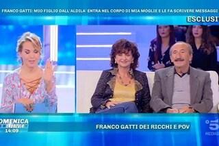 """La moglie di Franco Gatti sul figlio defunto: """"Comunica con me con la scrittura automatica"""""""