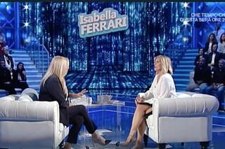 """Isabella Ferrari parla della sua malattia: """"Non ho mai avuto paura di morire"""""""