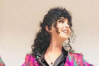 """Nadia Toffa cambia look e indossa una parrucca nera: """"Sembro Marcella Bella"""""""