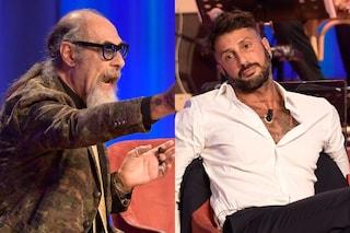 """Roberto D'Agostino contro Fabrizio Corona: """"È un esempio di mer**"""", Maurizio Costanzo si infuria"""
