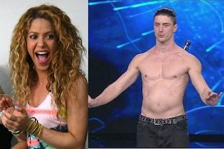 Shakira fan di Tu Si Que Vales, la star entusiasta per il ballerino Giulio Dilemmi