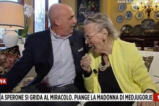Il gatto di Paolo Brosio perde sangue in diretta TV, Eleonora Daniele interrompe il collegamento