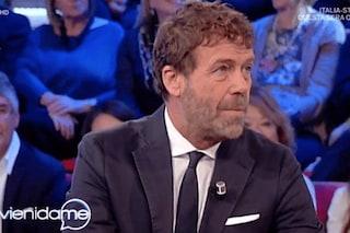 """Massimo Ciavarro a Vieni da me: """"La separazione da Eleonora Giorgi è stata dolorosa"""""""