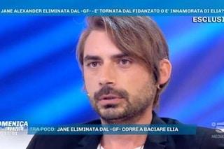 """Gianmarco Amicarelli: """"Jane Alexander non è tornata a casa, mi ha chiesto altri giorni per pensare"""""""