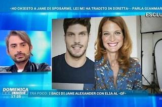 """Gianmarco Amicarelli: """"Io e Jane Alexander non eravamo in crisi, parlavamo di matrimonio"""""""