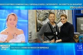 """Rocco Siffredi dopo l'intervento: """"Mi hanno operato alla spalla, ho due protesi"""""""
