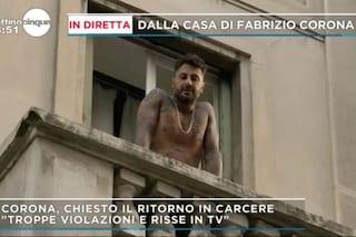 """Fabrizio Corona potrebbe tornare in carcere: """"Attendo la sentenza in silenzio. Asia Argento chi?"""""""