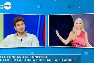 """Elia Fongaro: """"Jane Alexander dovrà chiarire con il suo ex, al momento non siamo fidanzati"""""""