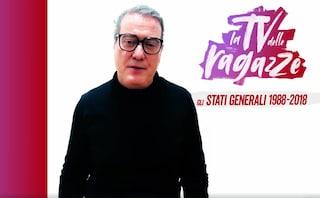 """Corrado Guzzanti torna in Rai, ospite de """"La TV delle ragazze"""" con il poeta Brunello Robertetti"""