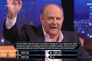 """Gerry Scotti e Chi vuol essere milionario si trasferiscono in Polonia per """"ottimizzare i costi"""""""