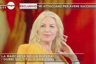 """La marchesa d'Aragona: """"Due familiari all'ospedale per le chiacchiere scandalose su di me"""""""