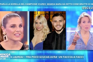 """Ivana Icardi attacca Wanda Nara: """"Non vedo più mio fratello Mauro a causa sua"""""""