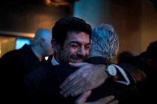 """Pierfrancesco Favino: """"Sempre vicino a Baglioni. Andrei a trovarlo a Sanremo, se avesse bisogno"""""""