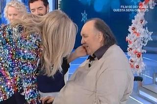 """""""Domenica In"""" chiude a 3 milioni di spettatori con l'abbraccio di Mara Venier e Giampiero Galeazzi"""