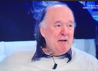 """Giampiero Galeazzi, ritorno in lacrime a Domenica In: """"Contento di quello che ho fatto nella vita"""""""