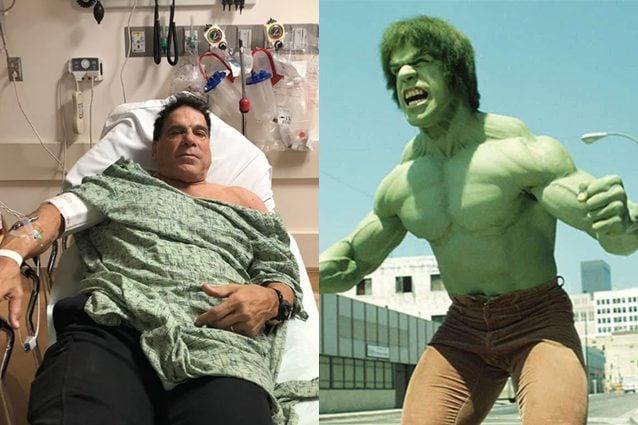 si vaccina e finisce in ospedale : è successo a `hulk` lou ferrigno