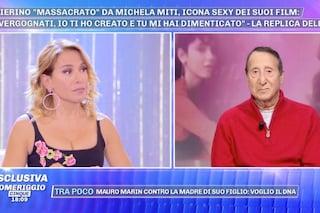 """Barbara D'Urso: """"Ma perché chiamate Alvaro Vitali 'maestro'? Mi fa ridere"""""""