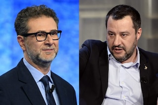 """Matteo Salvini: """"Fabio Fazio guadagna in un mese quello che io guadagno in un anno"""""""