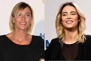 Sanremo 2019, Anna Foglietta e Melissa Greta Marchetto con Rocco Papaleo al DopoFestival
