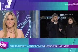La vita in diretta, salta l'audio nel collegamento con Roberto Fico: Francesca Fialdini spazientita