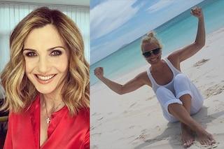 """Lorella Cuccarini risponde a Heather Parisi: """"Parli dell'Italia twittando dai paradisi fiscali"""""""