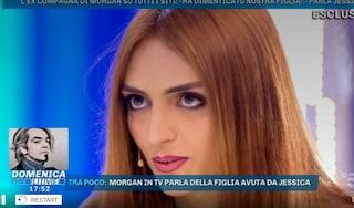 """Jessica Mazzoli: """"Per Morgan sua figlia Lara non esiste, l'ha vista due volte in sei anni"""""""