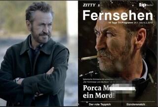 Rocco Schiavone arriva in Germania, e in copertina lo presentano con una bestemmia