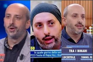 """Tre quiz in un anno, Salvatore Zanni concorrente napoletano dei record: """"Non lo faccio per soldi"""""""