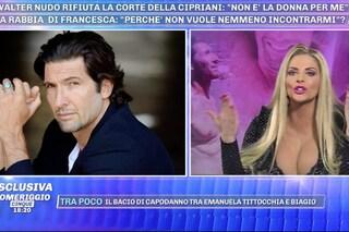 """Francesca Cipriani furiosa: """"Walter Nudo cafone e maleducato, visualizza i messaggi e non risponde"""""""