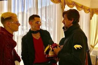 """Teresa De Santis: """"Chiesta analisi chimica del testo di Achille Lauro, da Striscia ci aiutano"""""""
