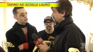 """Staffelli: """"Rolls Royce è droga e lei da ex pusher lo sa"""", Achille Lauro: """"Sei ridicolo"""""""