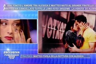 """Alessia Prete in crisi con Matteo Gentili piange in diretta a 'Pomeriggio Cinque': """"Io lo amo"""""""