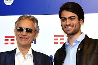 """Andrea Bocelli a Sanremo 2019 con suo figlio: """"La Lega usa le mie canzoni? Mi fa piacere"""""""