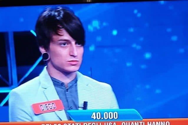Chi è Diego Fanzaga, il concorrente dell'Eredità che fa impazzire Twitter